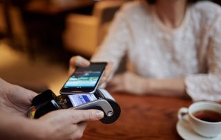 NFC-betaling op kaartterminal