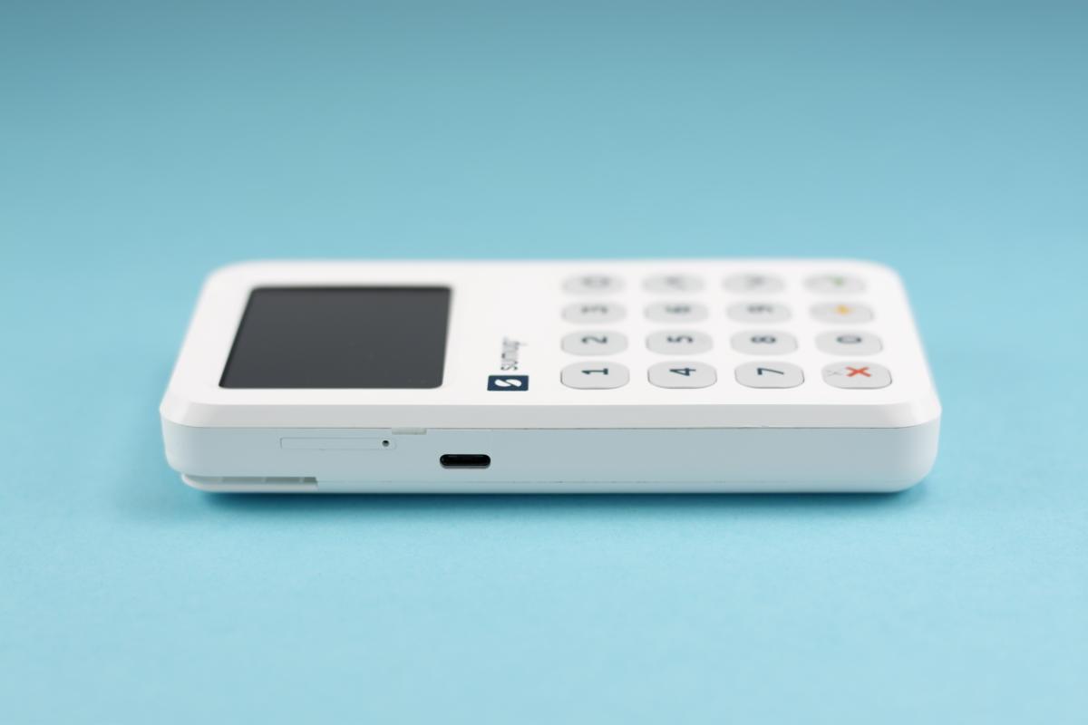 SumUp 3G - zijde