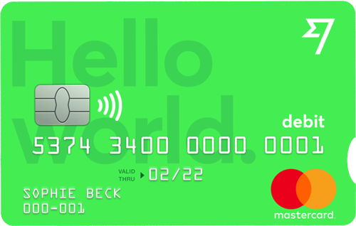 TransferWise-kaart
