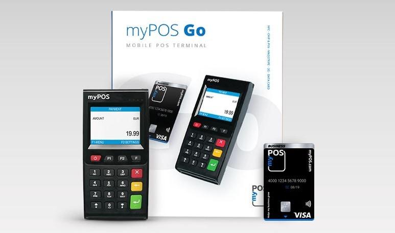 myPOS Go pakketinhoud
