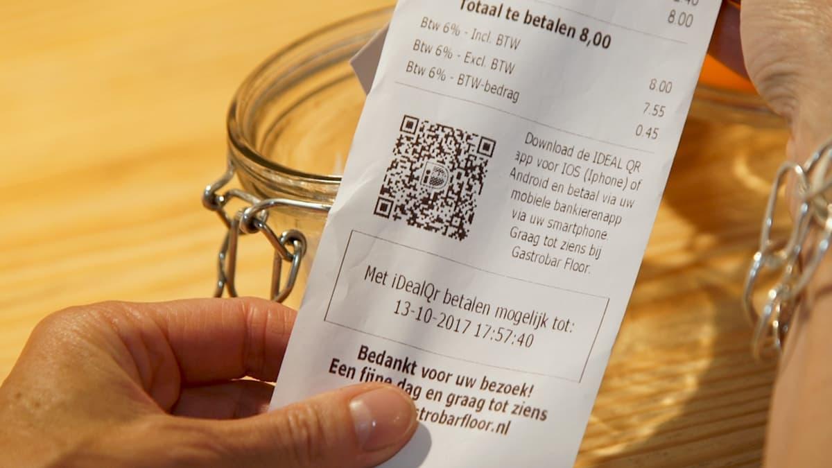 iDEAL QR-code betaling