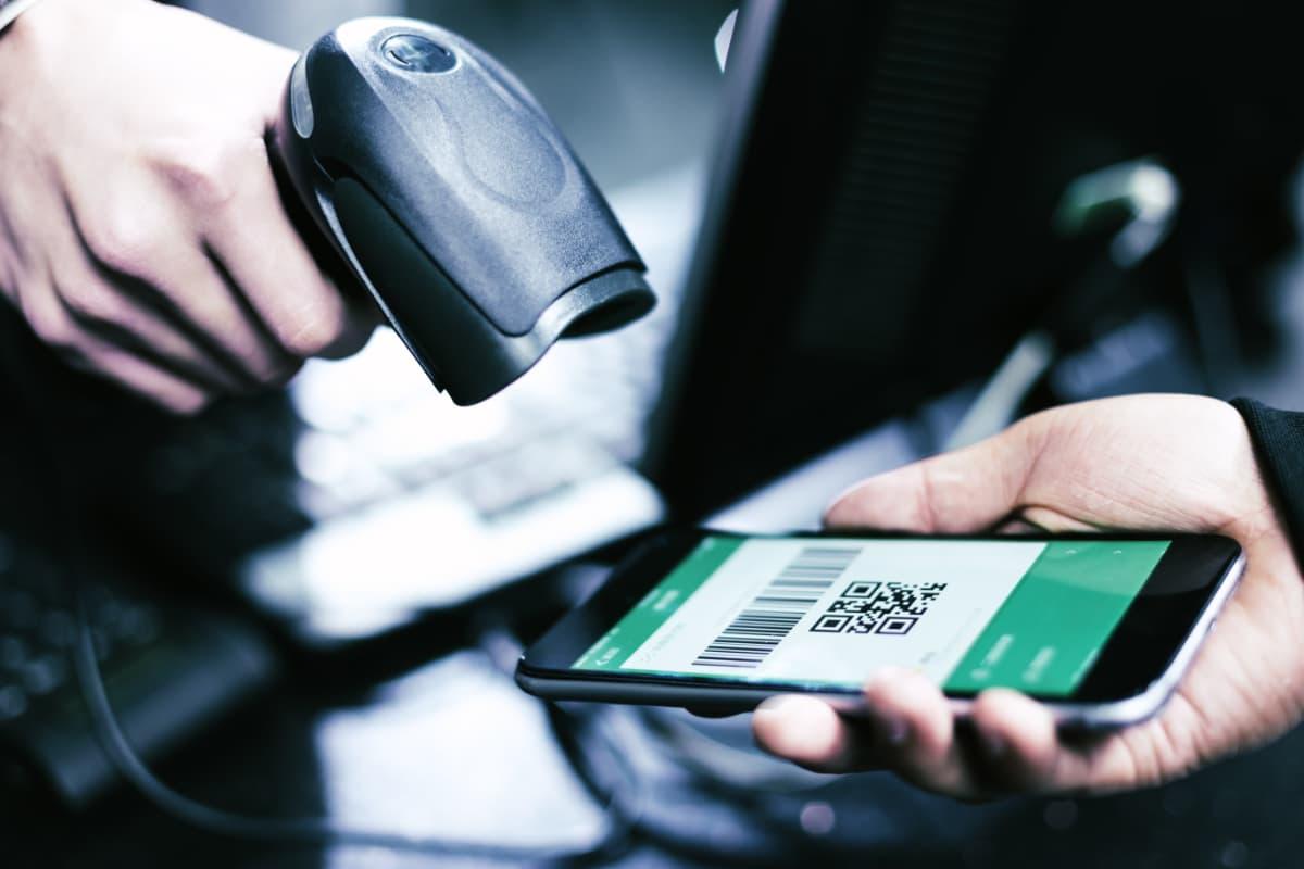 QR-code scanner leest app