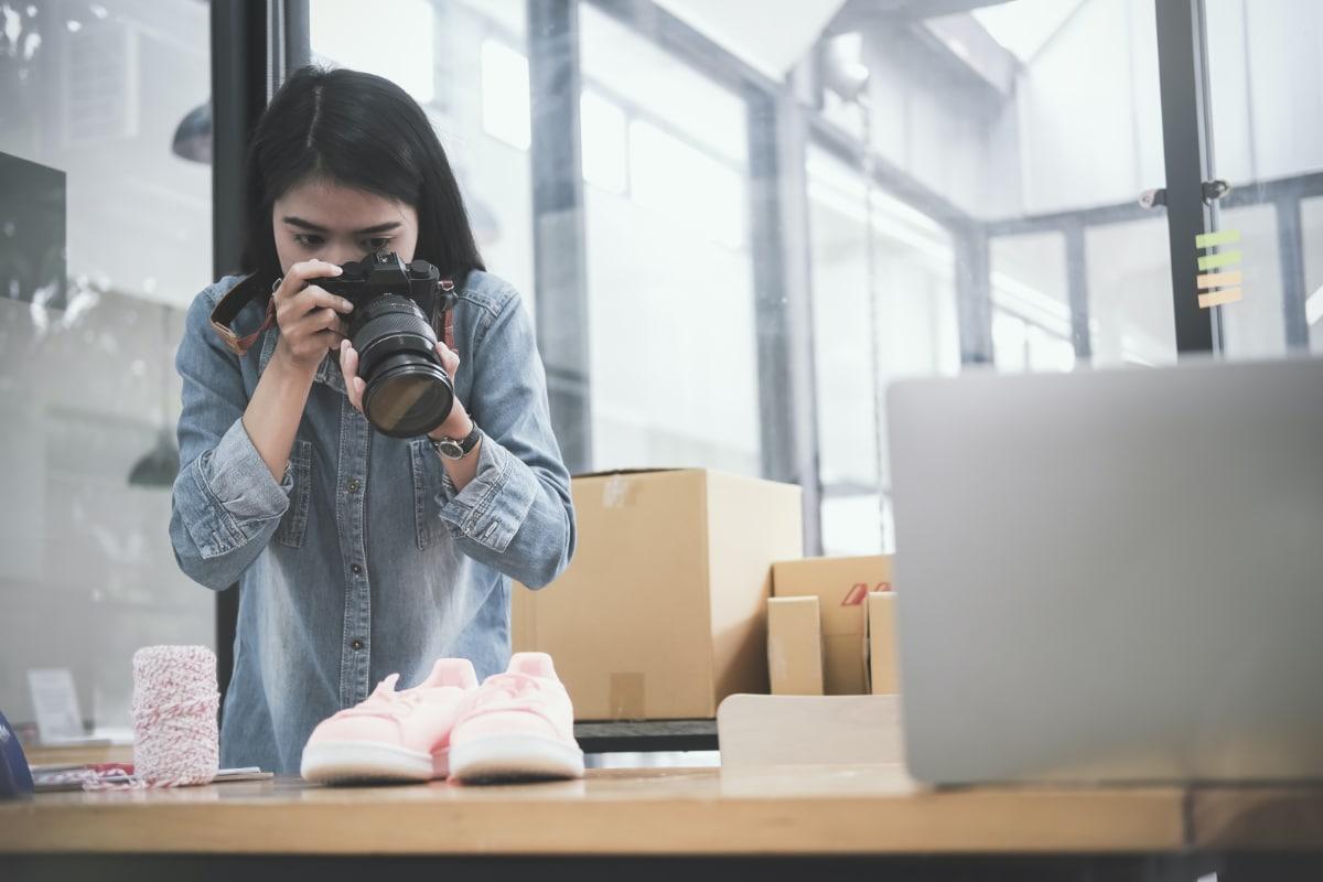 webwinkel fotos maken