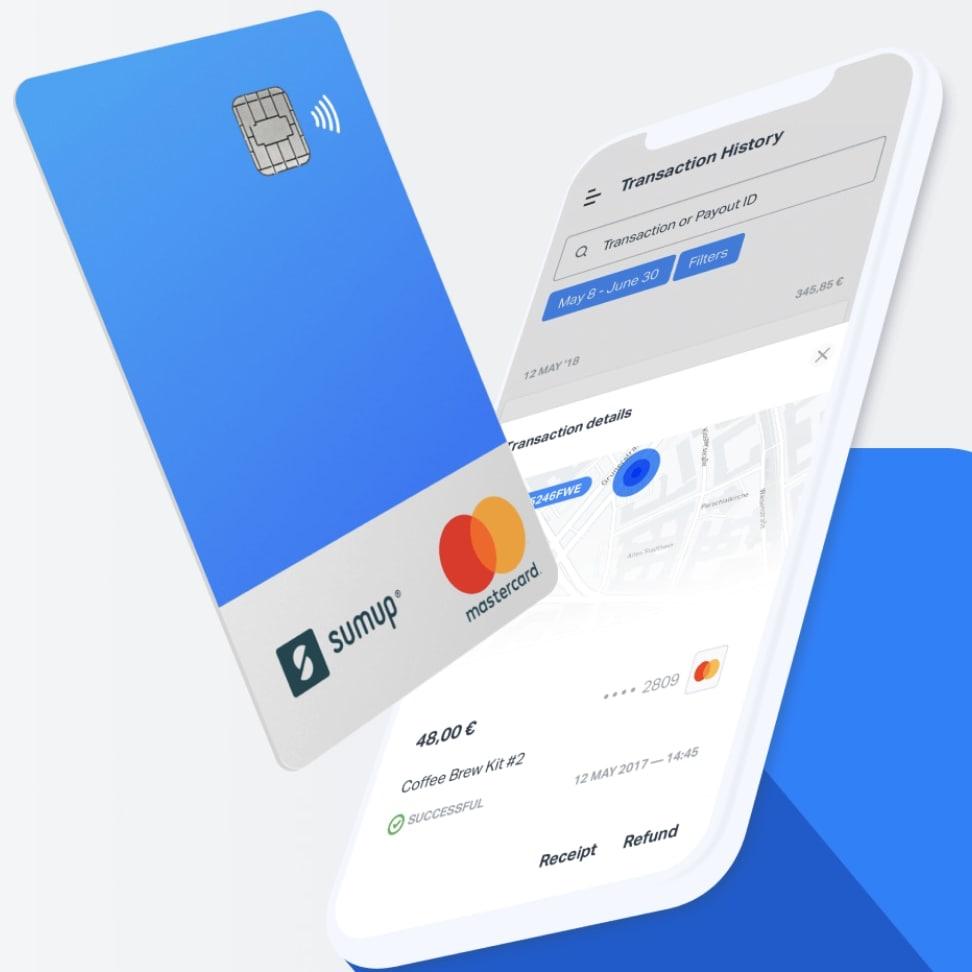 SumUp Card en telefoon