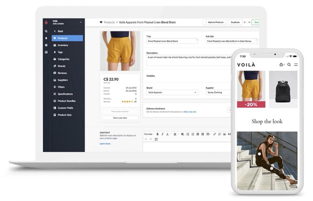 Lightspeed eCommerce-platform