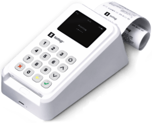 SumUp 3G en printer