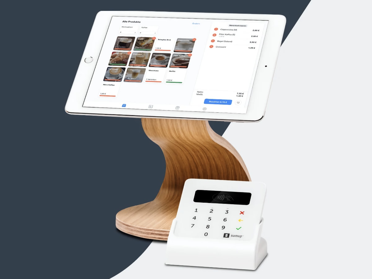 SumUp iPad kassa