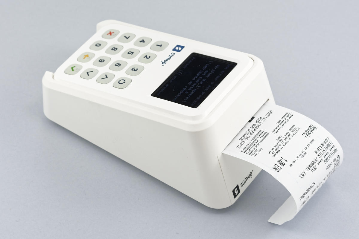 SumUp 3G bonprinter